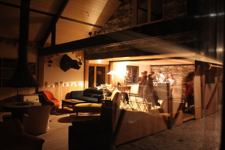 Le Lounge, cœur du Country Lodge