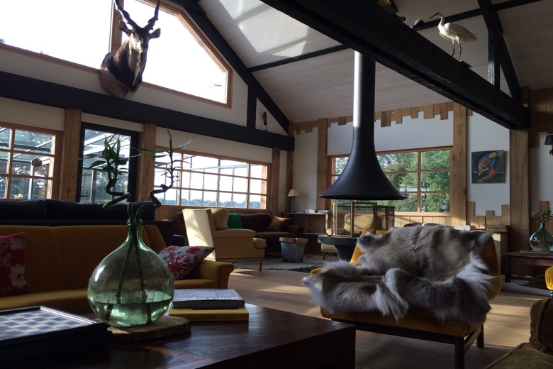 Le Lounge, cœur du Country Lodge