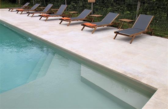 La piscine du Country Lodge