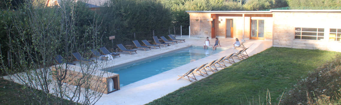 La piscine du Country Lodge