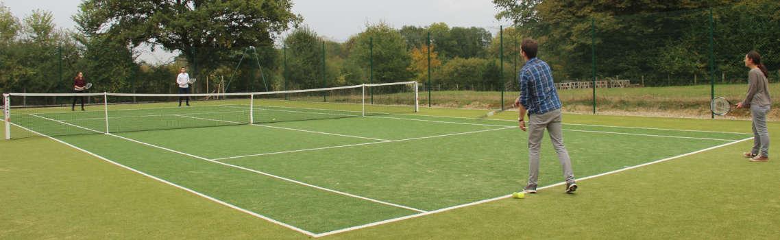 Le tennis au Country Lodge