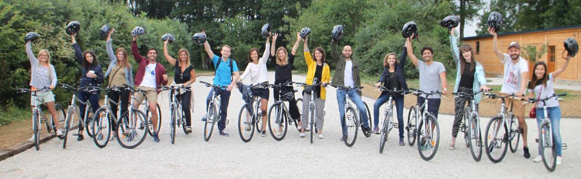 Les vélos au Country Lodge